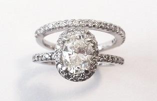Turquoise Inlay Wedding Band 69 Fabulous Custom platinum engagement halo